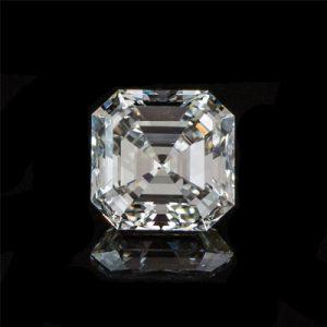 Kim cương nhân tạo Moissanite Asscher 13ly