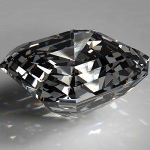 Kim cương nhân tạo Moissanite Asscher 6ly5