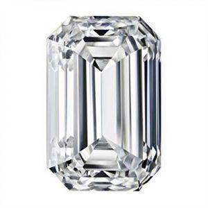 Kim cương nhân tạo Moissanite Emerald 10x8