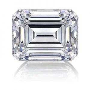 Kim cương nhân tạo Moissanite Emerald 12x10