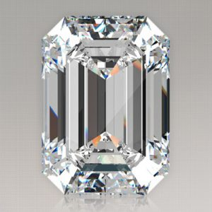 Kim cương nhân tạo Moissanite Emerald 13x9