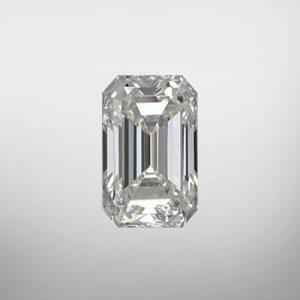 Kim cương nhân tạo Moissanite Emerald 4x2