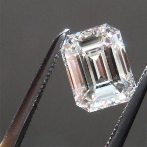 Kim cương nhân tạo Moissanite Emerald 8x6