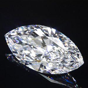 Kim cương nhân tạo Moissanite Marquise 15x8