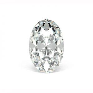 Kim cương nhân tạo Moissanite Oval 15x12