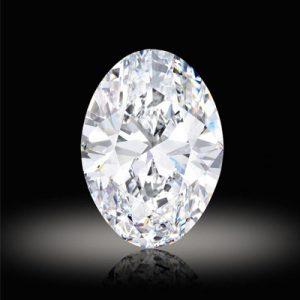 Kim cương nhân tạo Moissanite Oval 18x13