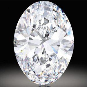 Kim cương nhân tạo Moissanite Oval 20x15
