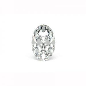 Kim cương nhân tạo Moissanite Oval 5x4