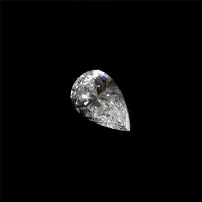 Kim cương nhân tạo Moissanite Pear 11x8