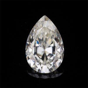 Kim cương nhân tạo Moissanite Pear 13x8