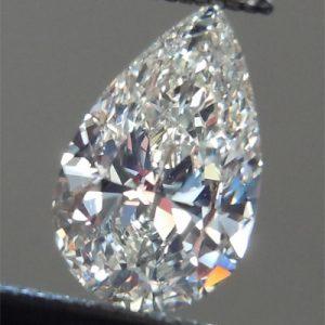 Kim cương nhân tạo Moissanite Pear 18x12
