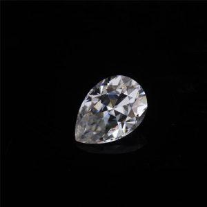 Kim cương nhân tạo Moissanite Pear 6x4
