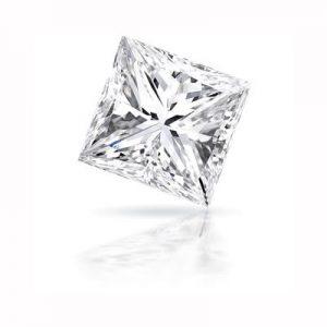 Kim cương nhân tạo Moissanite Princess 7ly