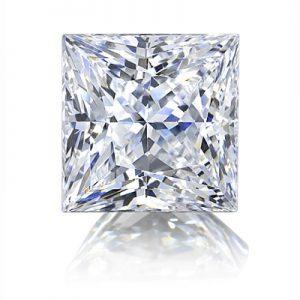 Kim cương nhân tạo Moissanite Princess 7ly5