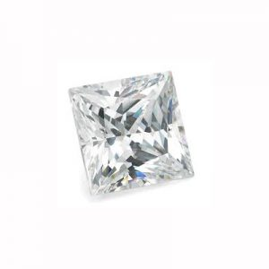 Kim cương nhân tạo Moissanite Princess 9ly5