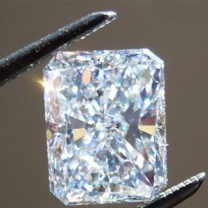 Kim cương nhân tạo Moissanite Radiant 13x11