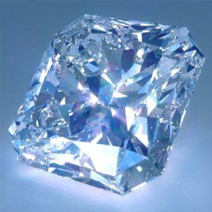 Kim cương nhân tạo Moissanite Radiant 13x9