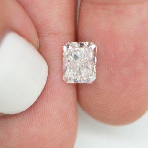 Kim cương nhân tạo Moissanite Radiant 14x12