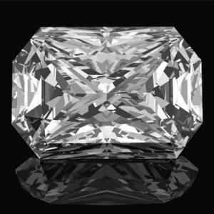 Kim cương nhân tạo Moissanite Radiant 16x12