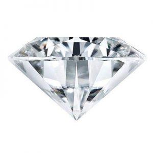 Kim cương nhân tạo Moissanite Round 13ly5