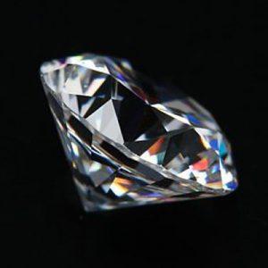 Kim cương nhân tạo Moissanite Round 14ly