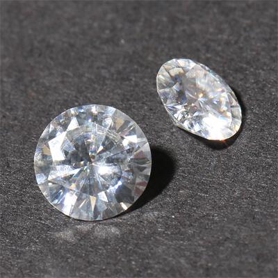 Kim cương nhân tạo Moissanite Round 6ly3
