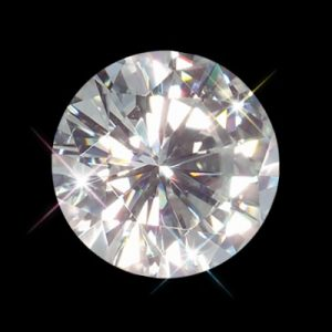 Kim cương nhân tạo Moissanite Round 7ly2