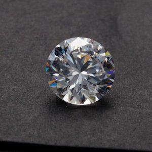 Kim cương nhân tạo Moissanite Round 7ly5