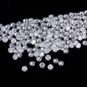 Kim cương nhân tạo Moissanite Round tấm