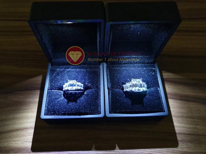 Hướng dẫn lựa chọn nhẫn cưới kim cương moissanite độc đáo