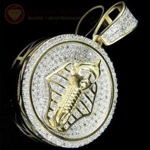 Mặt dây chuyền nam kim cương Pharaon