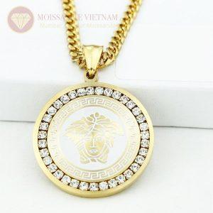 Mặt dây chuyền nam kim cương Versace