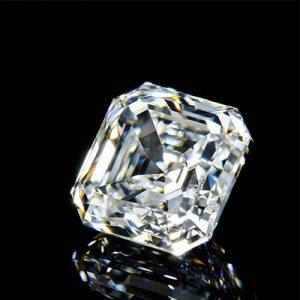 Kim cương nhân tạo Moissanite Asscher 12ly