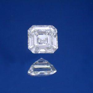 Kim cương nhân tạo Moissanite Asscher 4ly5