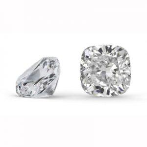 Kim cương nhân tạo Moissanite Cushion 10ly