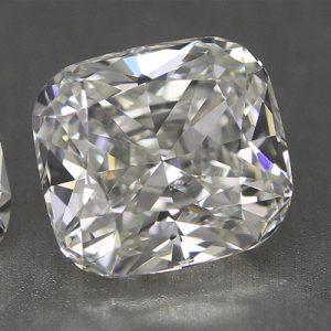 Kim cương nhân tạo Moissanite Cushion 13ly