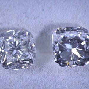Kim cương nhân tạo Moissanite Cushion 5ly
