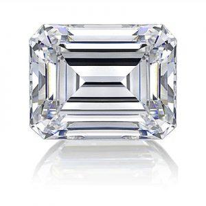 Kim cương nhân tạo Moissanite Emerald 11x9