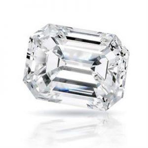 Kim cương nhân tạo Moissanite Emerald 12x8