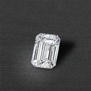 Kim cương nhân tạo Moissanite Emerald 13x11