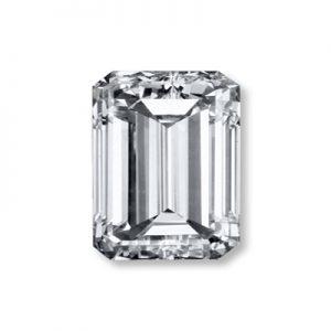 Kim cương nhân tạo Moissanite Emerald 14x10