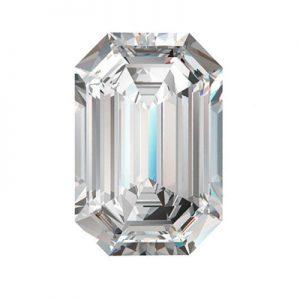 Kim cương nhân tạo Moissanite Emerald 14x8