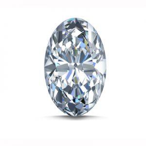 Kim cương nhân tạo Moissanite Oval 13x11