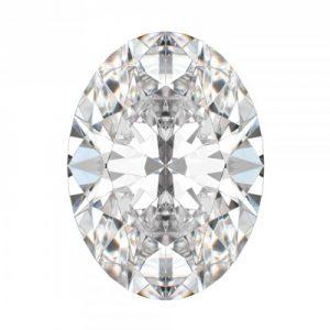 Kim cương nhân tạo Moissanite Oval 14x12