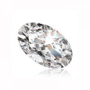 Kim cương nhân tạo Moissanite Oval 16x14