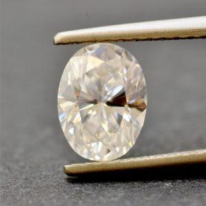 Kim cương nhân tạo Moissanite Oval 9x6