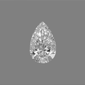 Kim cương nhân tạo Moissanite Pear 13x11