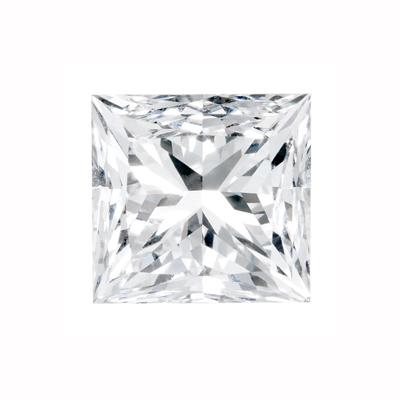 Kim cương nhân tạo Moissanite Princess 10ly