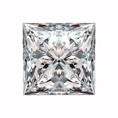 Kim cương nhân tạo Moissanite Princess 12ly