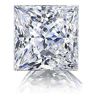 Kim cương nhân tạo Moissanite Princess 8ly5